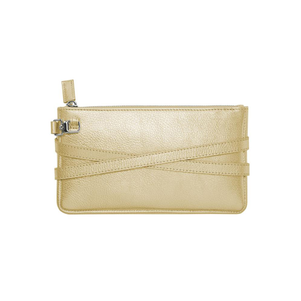 Damano minibag back metallic-gold