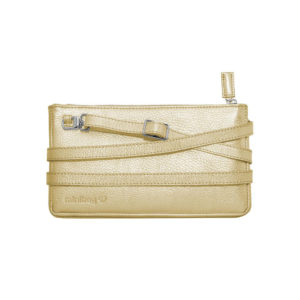 Damano minibag front metallic-gold