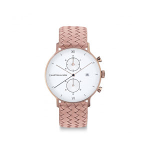Damano chrono Rose Woven Leather