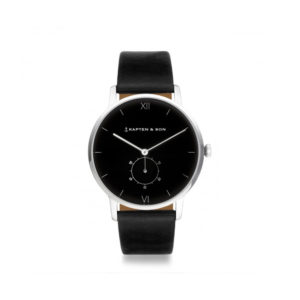 damano heritage silver all black front