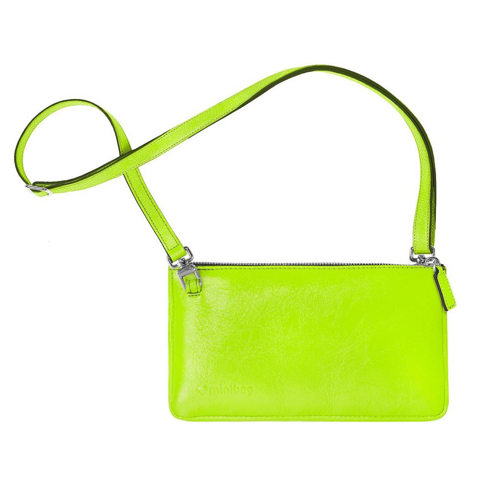 damano minibag schlaufe neon gelb