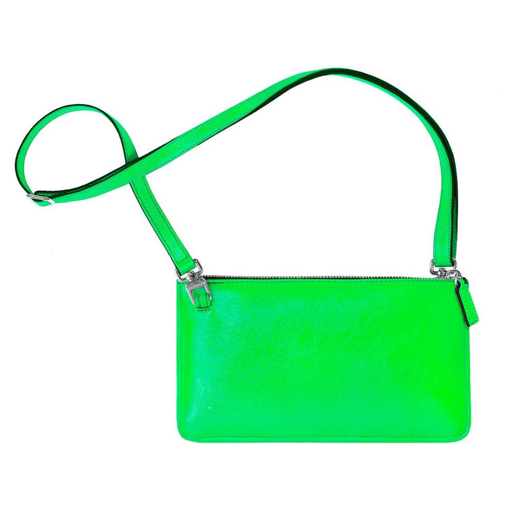 damano minibag schlaufe neon gruen