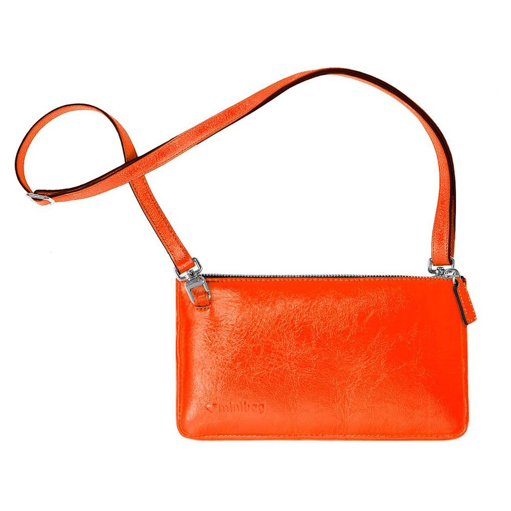damano minibag schlaufe neon orange