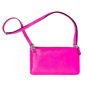 damano minibag schlaufe neon pink